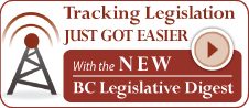 Quickscribe BC Legislative Digest!