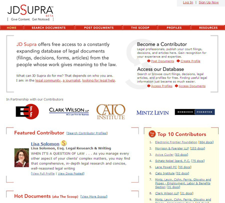 JD Supra - Legal Forms, Documents, & Research by the Legal Community!